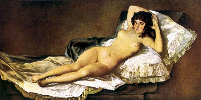 Goya la maja desnuda 1997 joe damato 4