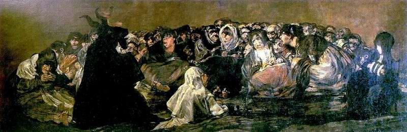 Francisco de GOYA: Boszorkányszombat