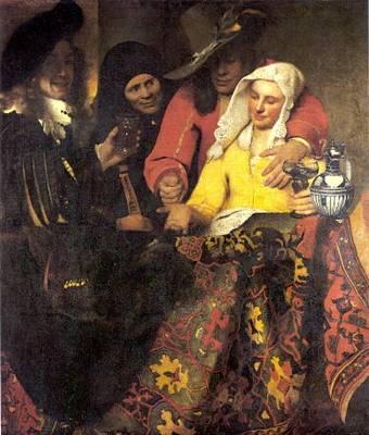 Vermeer - A kerítőnő
