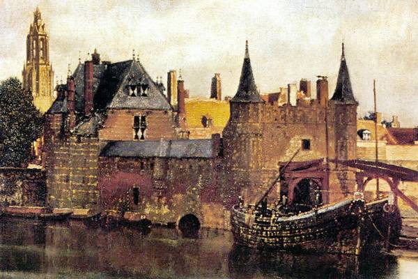 Ha erre jársz, várlak: Jan Vermeer van Delft