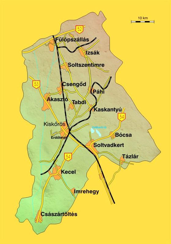 soltvadkert térkép Rövid utak/községek   Bócsa + Soltvadkert soltvadkert térkép